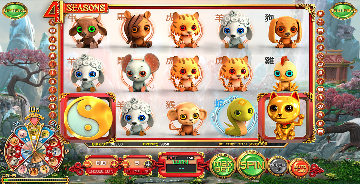 4 seasons betsoft casino