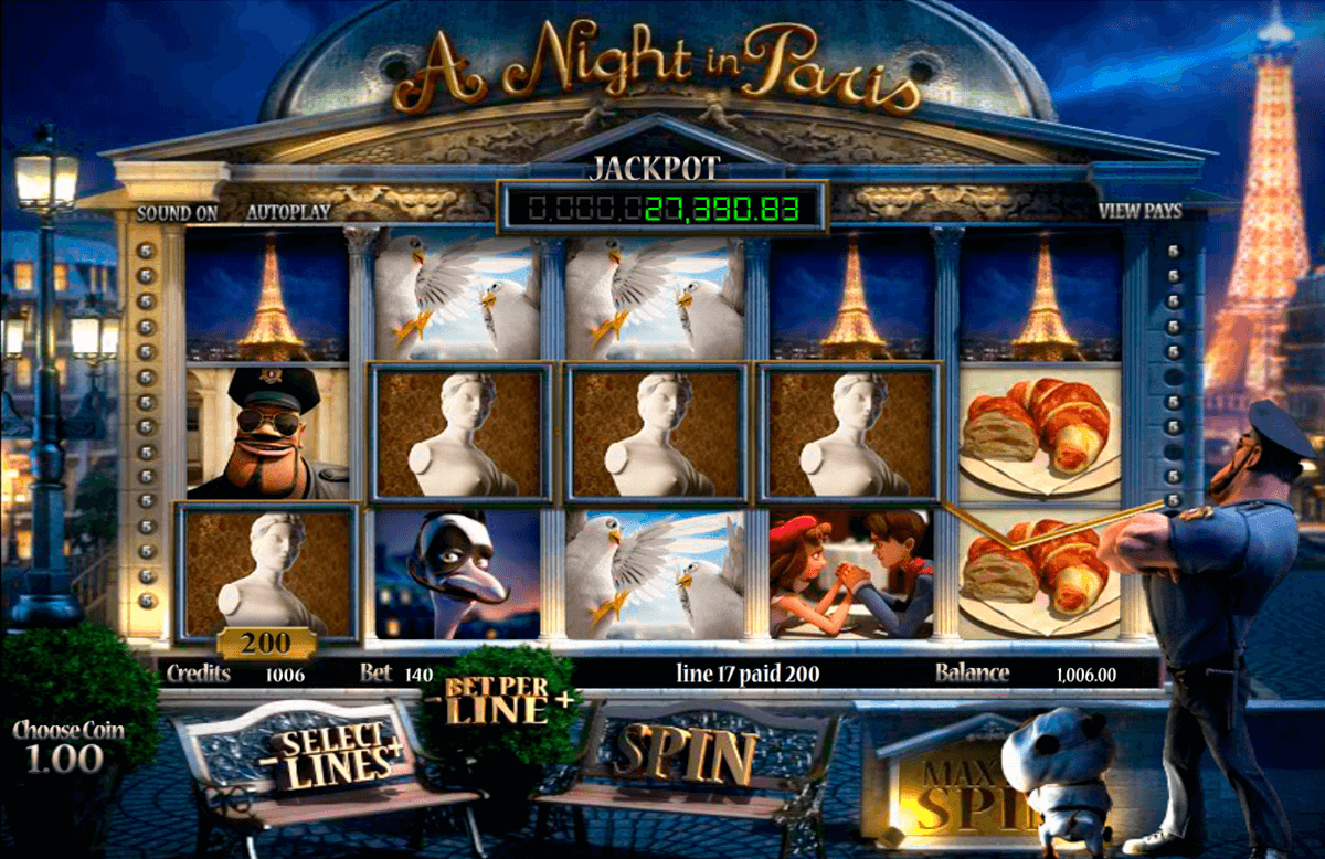 a night in paris betsoft casino