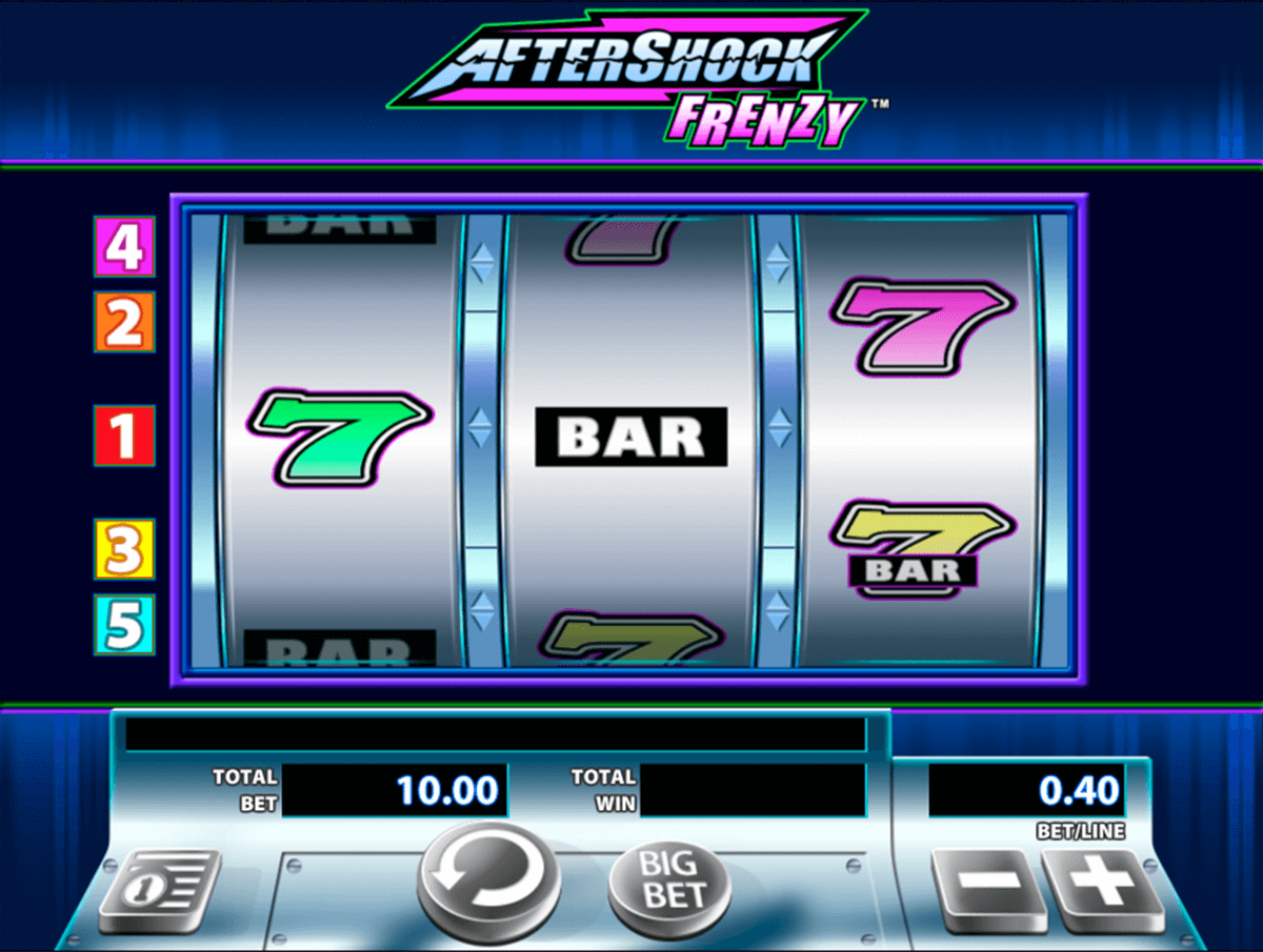 aftershock frenzy wms casino