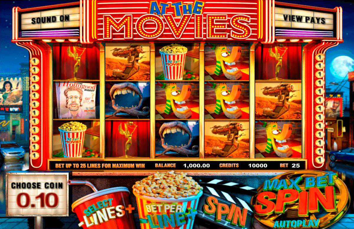 at the movies betsoft casino