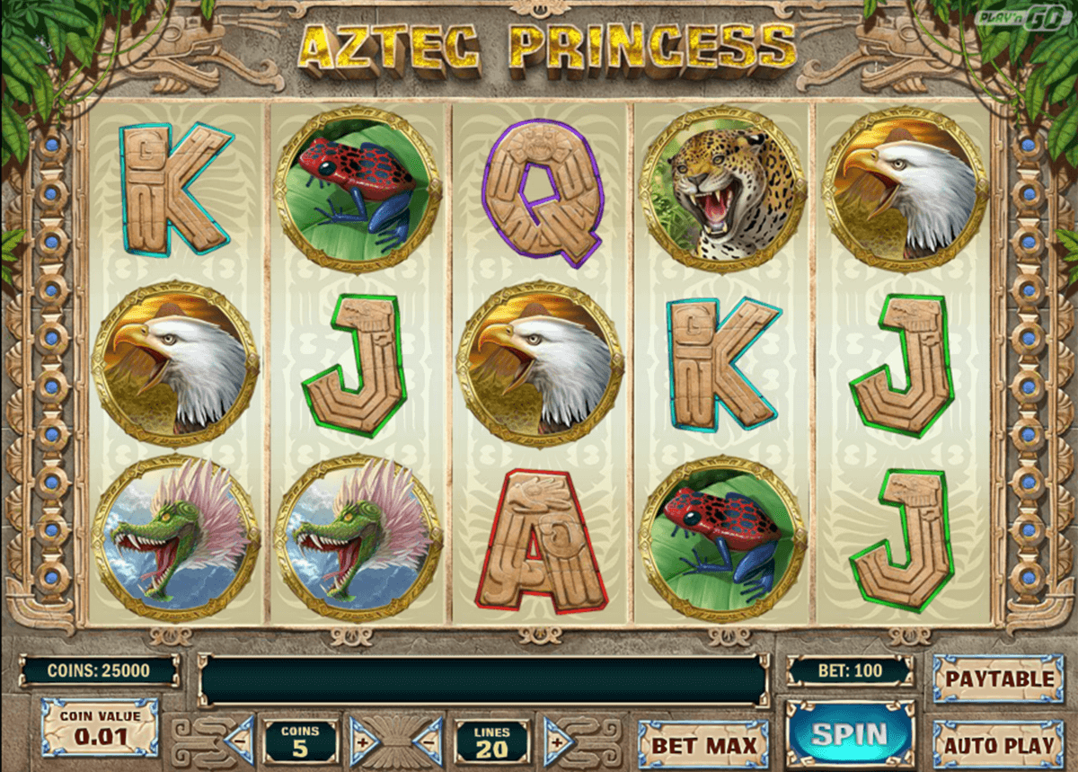 aztec princess playn go casino