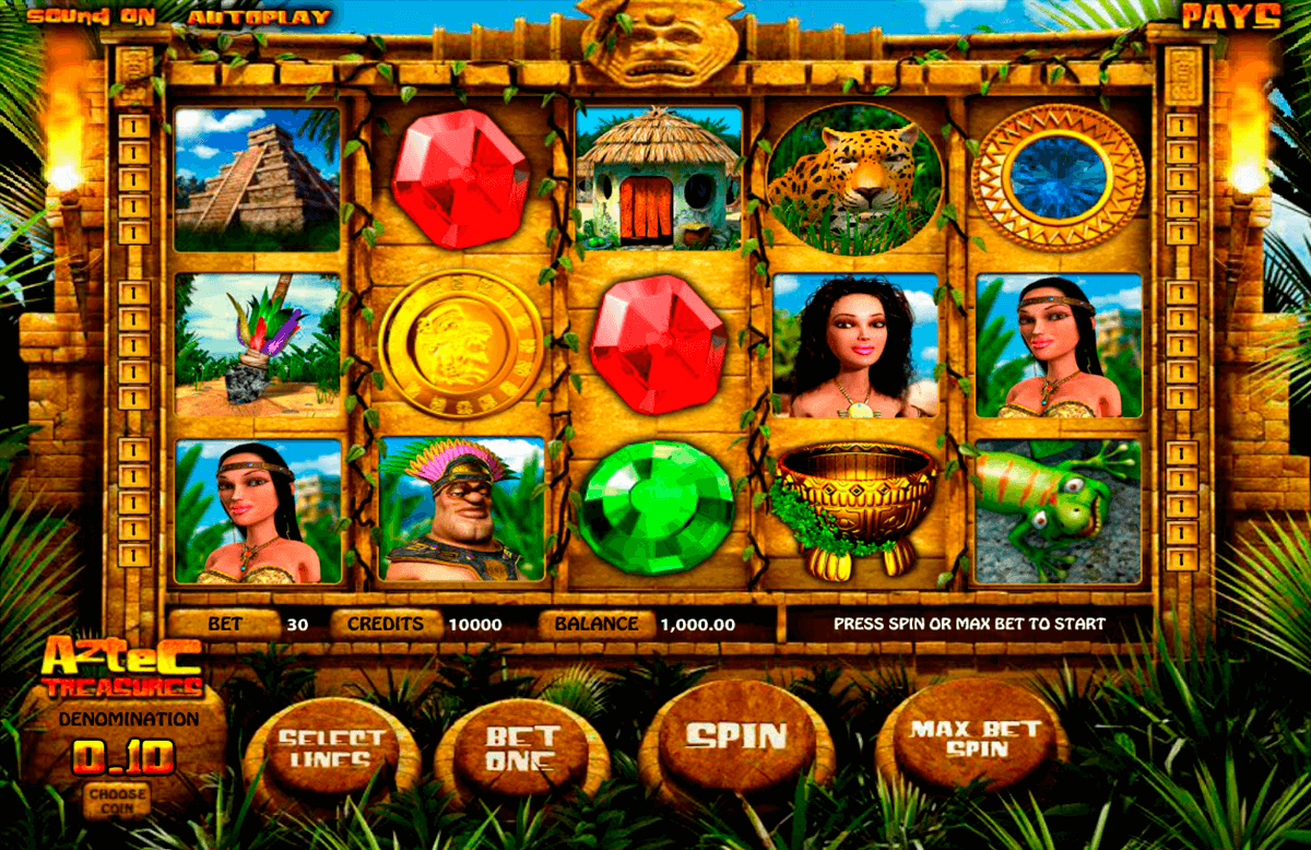 aztec treasures betsoft casino