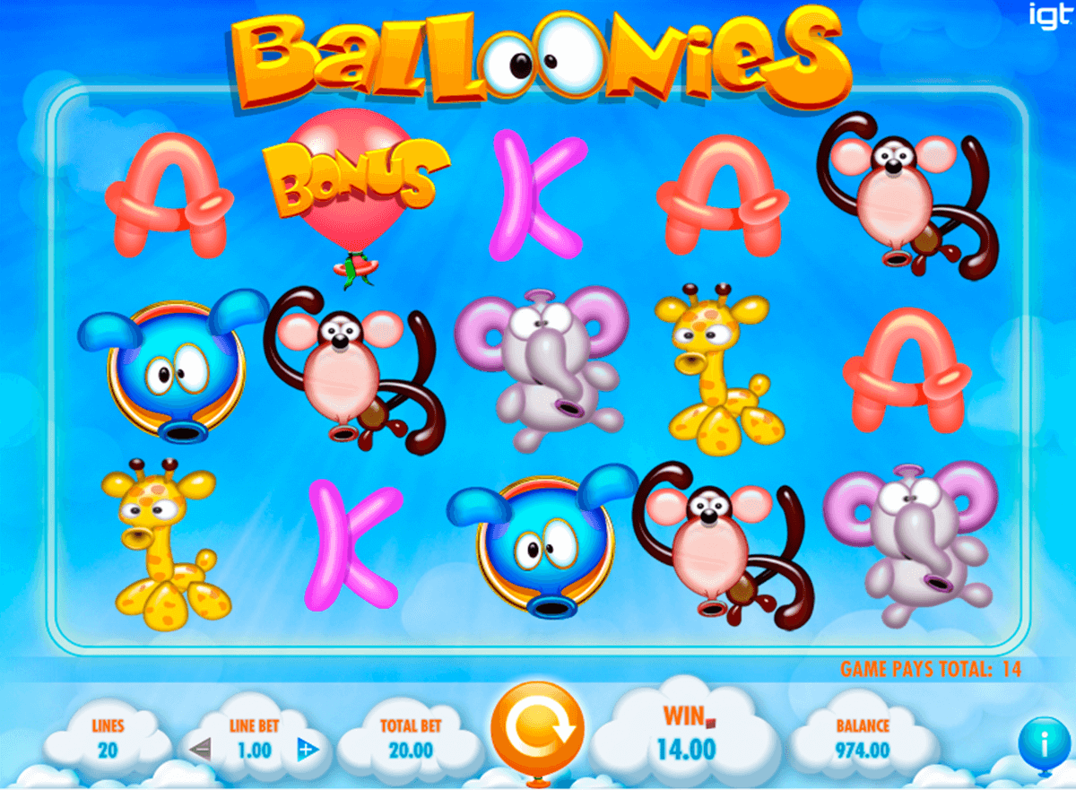 balloonies igt casino