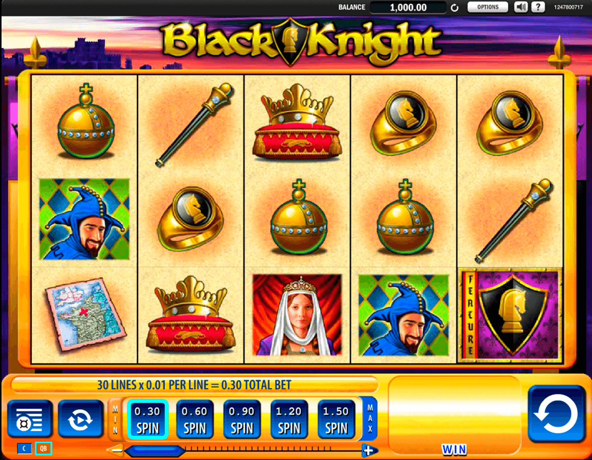 black knight wms casino