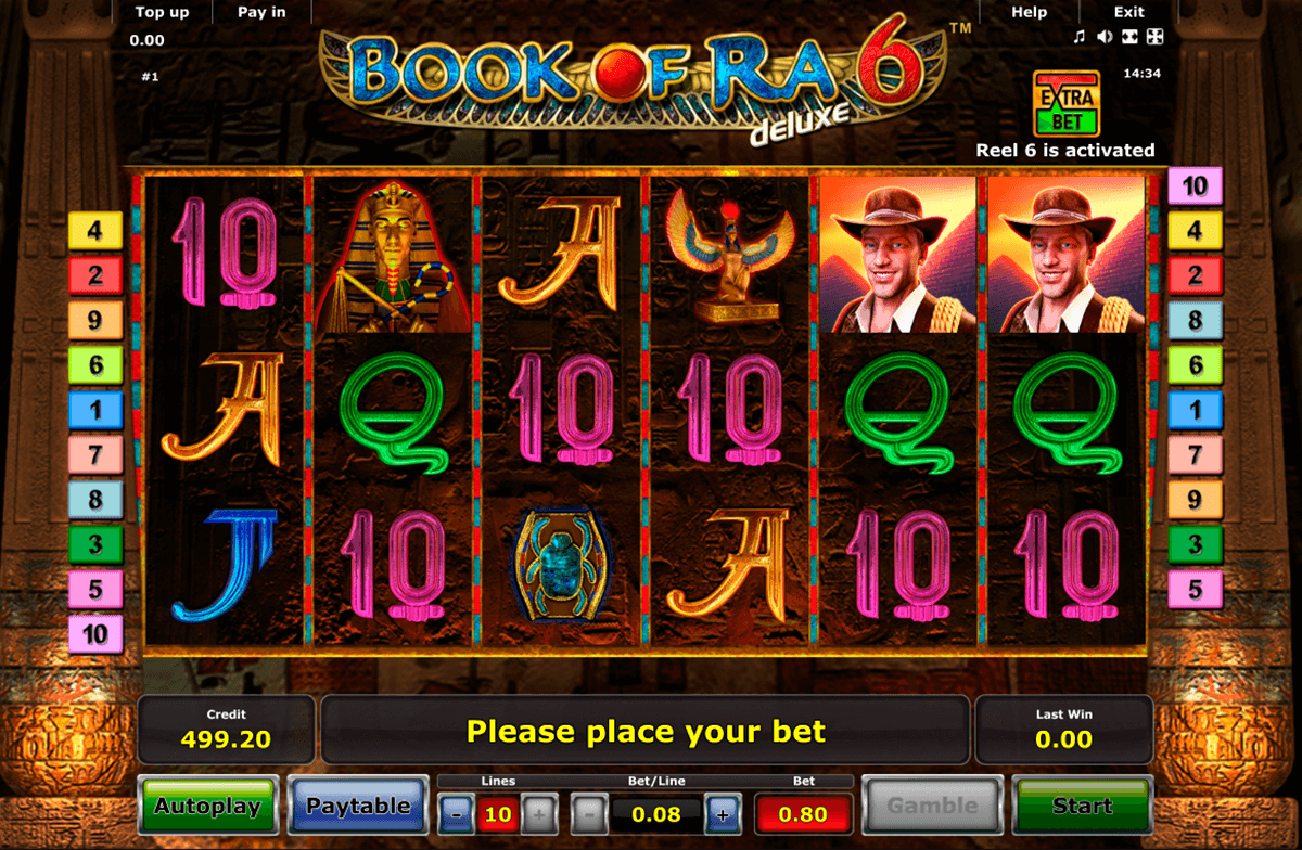 book of ra 6 novomatic casino