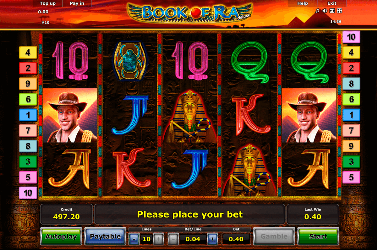 book of ra deluxe novomatic casino