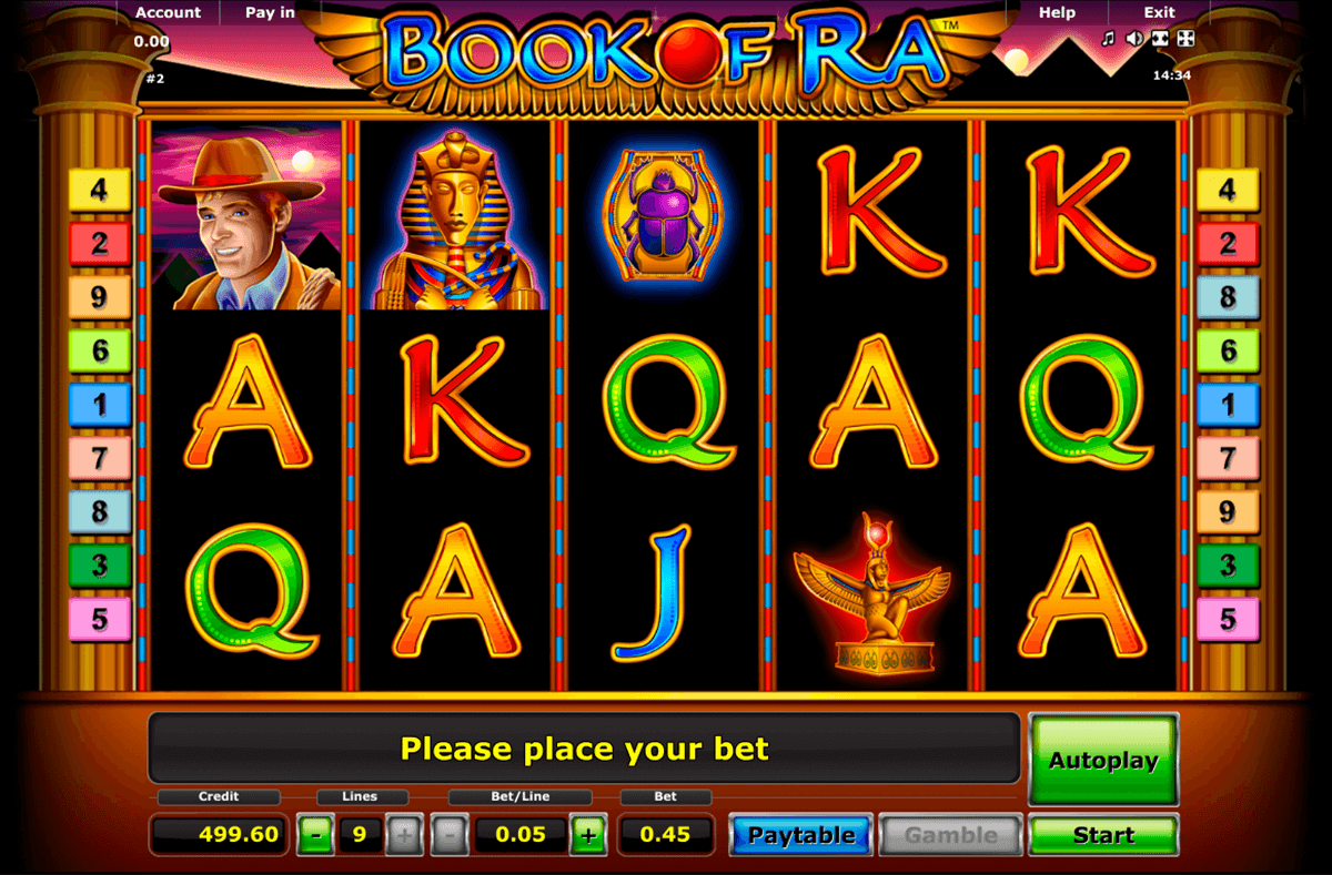 book of ra novomatic casino