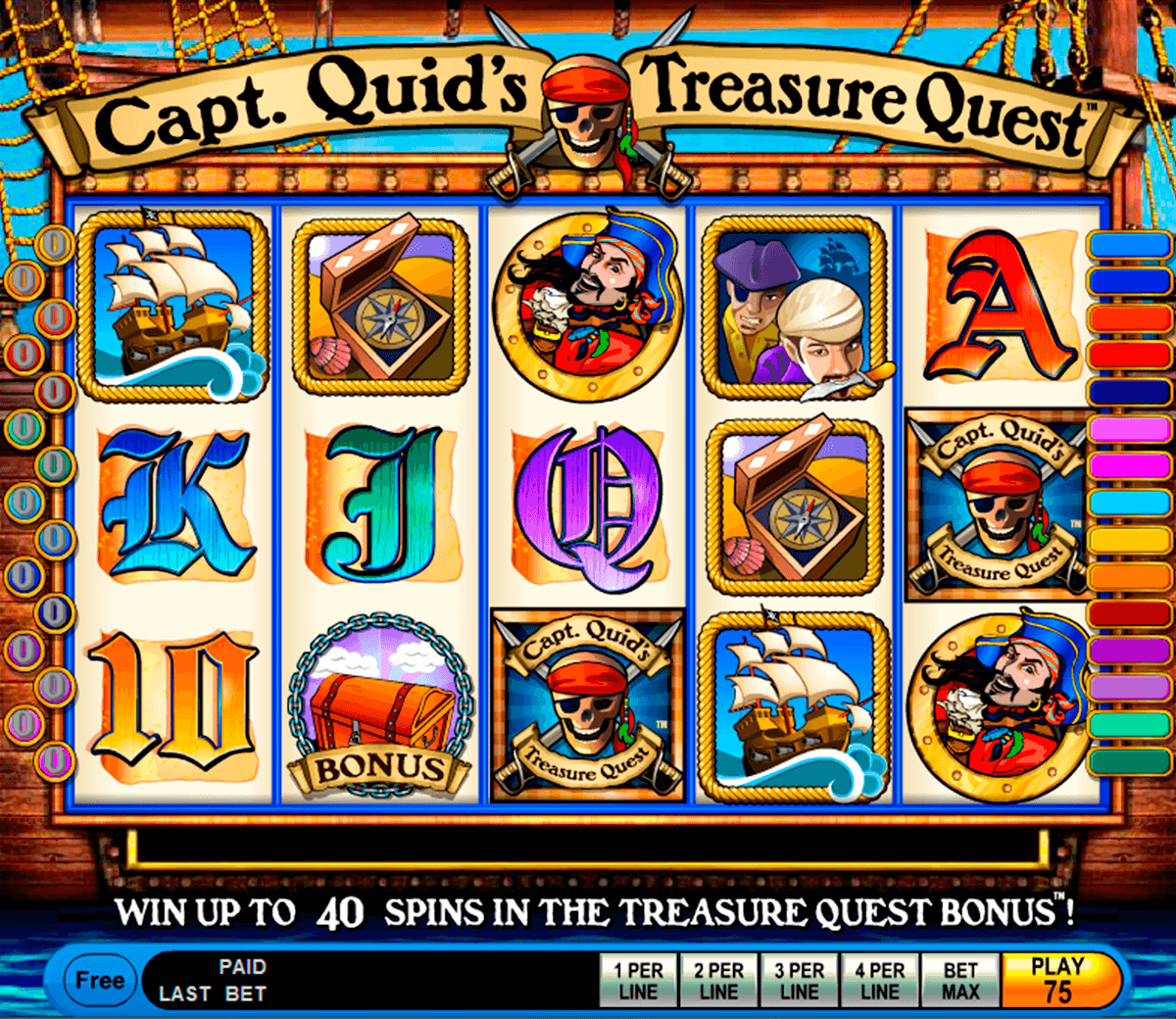 capt quids treasure quest igt casino
