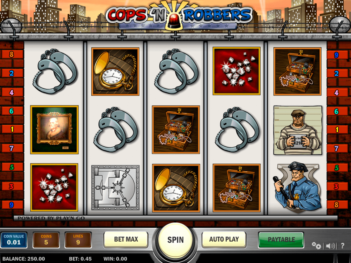 cops n robbers playn go casino