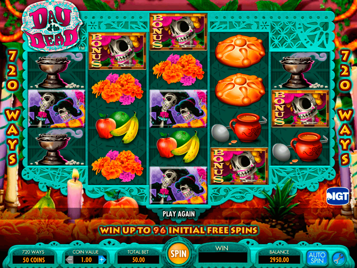 day of the dead igt casino