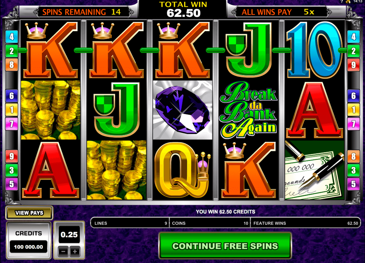 break da bank again microgaming hedelmapeli netissa