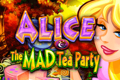 logo alice and the mad tea party wms