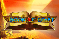 logo book of egypt deluxe novomatic