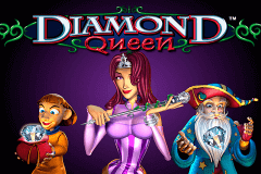 logo diamond queen igt