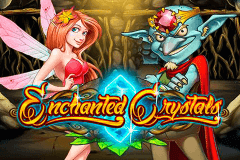 logo enchanted crystals playn go kolikkopeli netissa