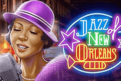 logo jazz of new orleans playn go kolikkopeli netissa