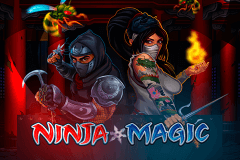 logo ninja magic microgaming kolikkopeli netissa