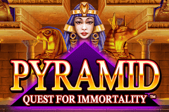 logo pyramid quest for immortality netent kolikkopeli netissa
