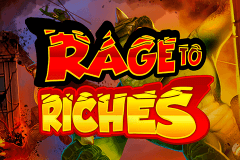 logo rage to riches playn go kolikkopeli netissa