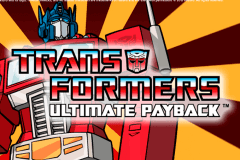logo transformers ultimate payback igt