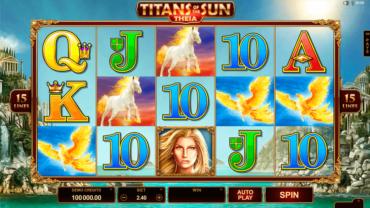 titans of the sun theia microgaming hedelmapeli netissa