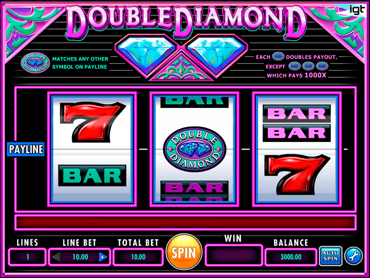 double diamond igt casino