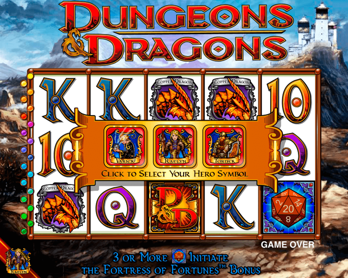 dungeons and dragons igt casino