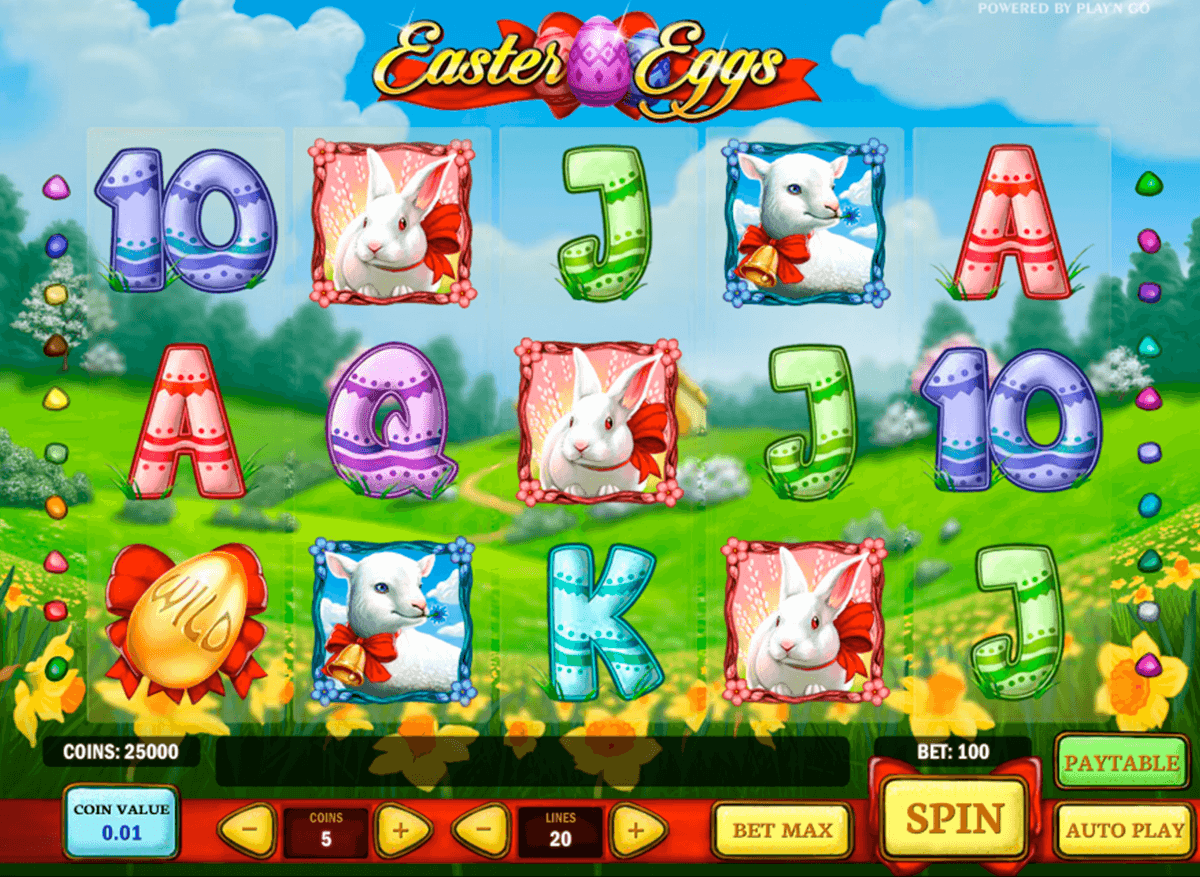 easter eggs playn go casino