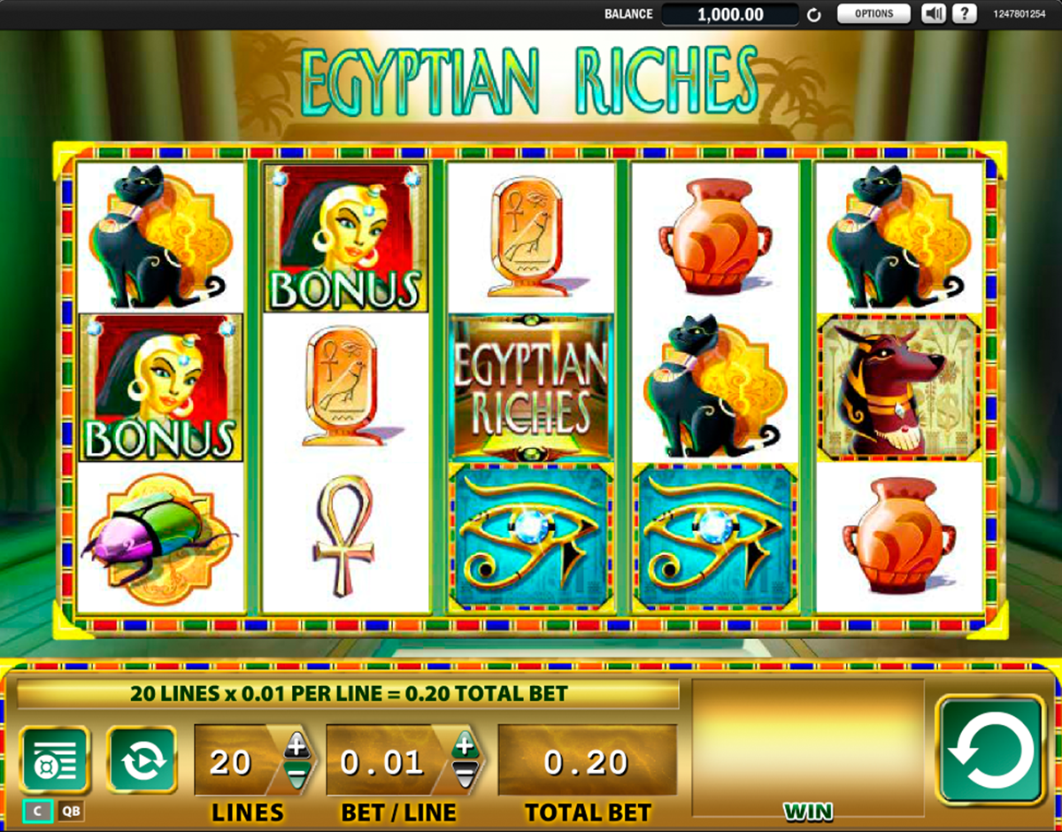 egyptian riches wms casino