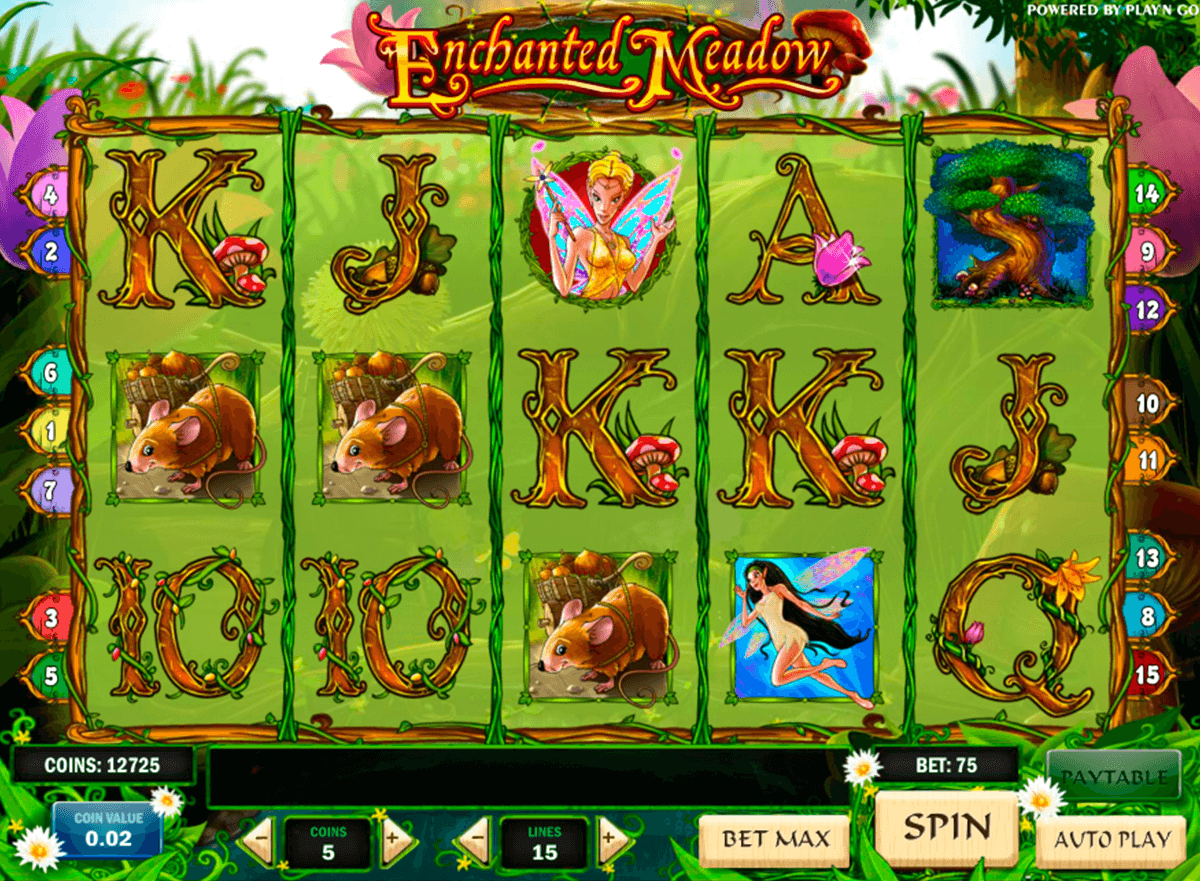 enchanted meadow playn go casino