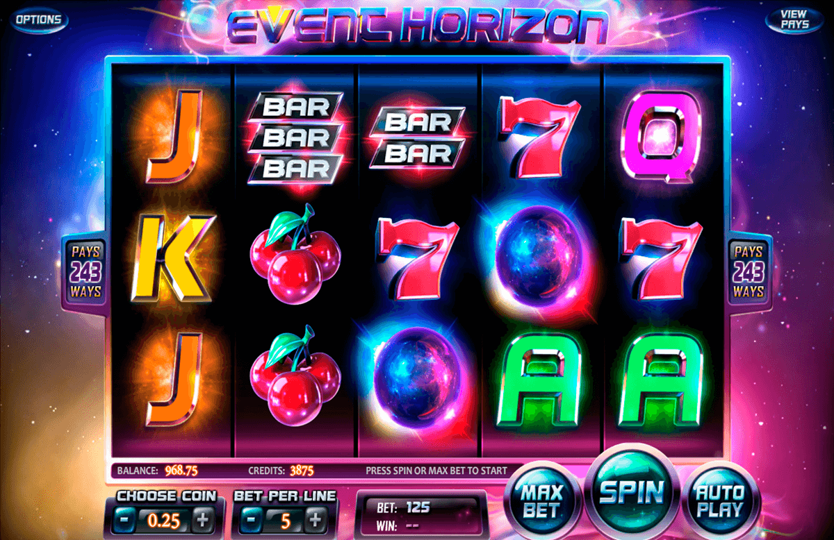 event horizon betsoft casino