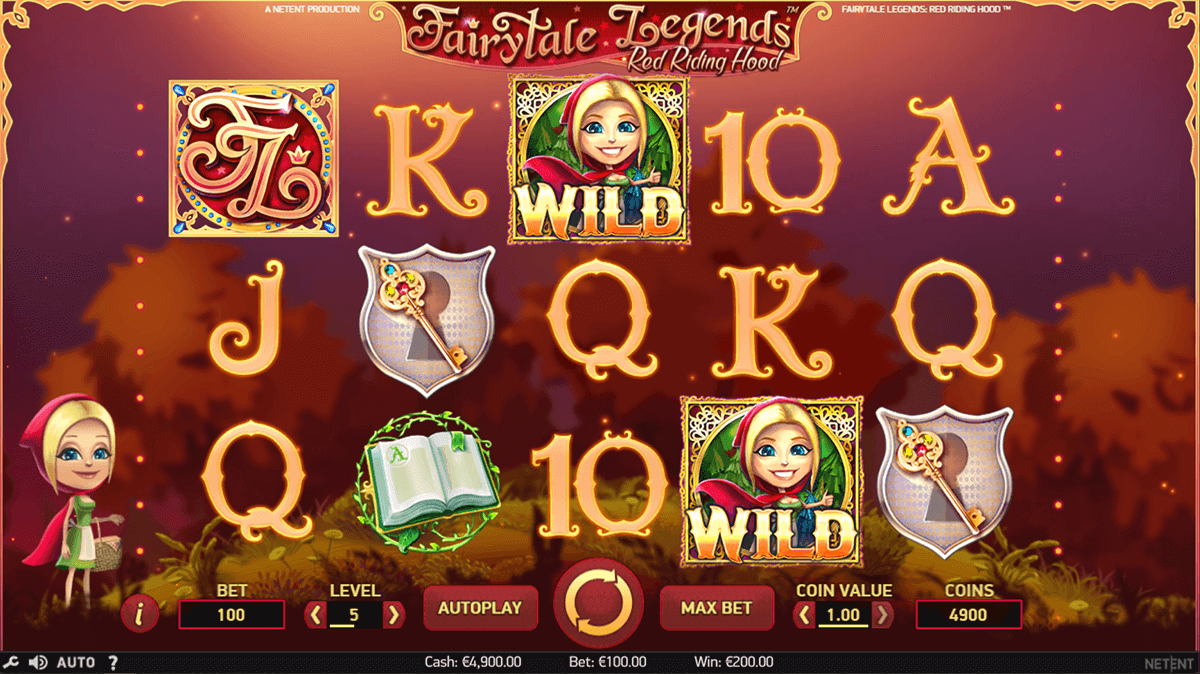 fairytale legends red riding hood netent casino