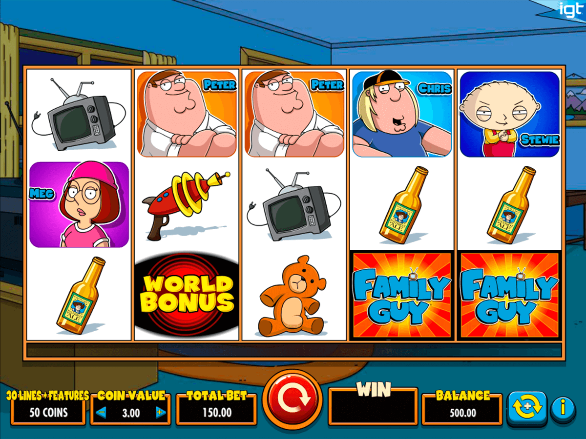 family guy igt casino