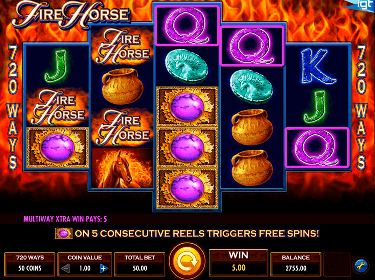 fire horse igt casino