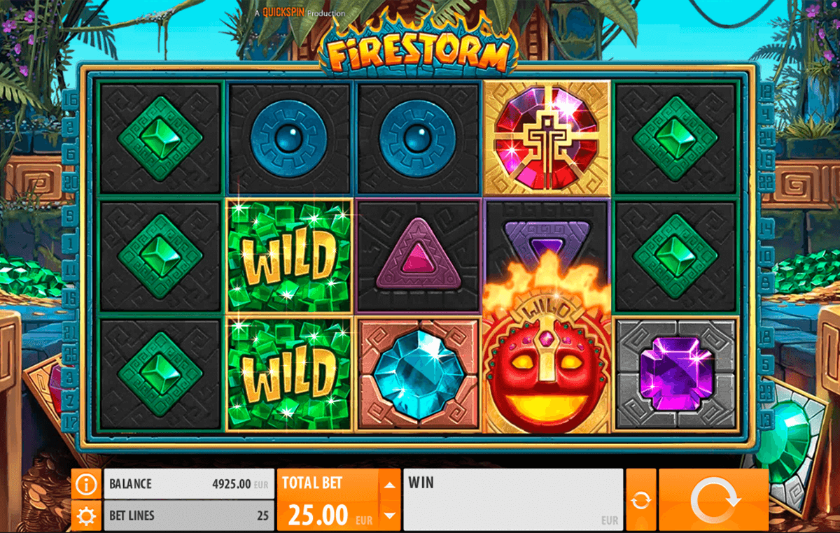 firestorm quickspin casino