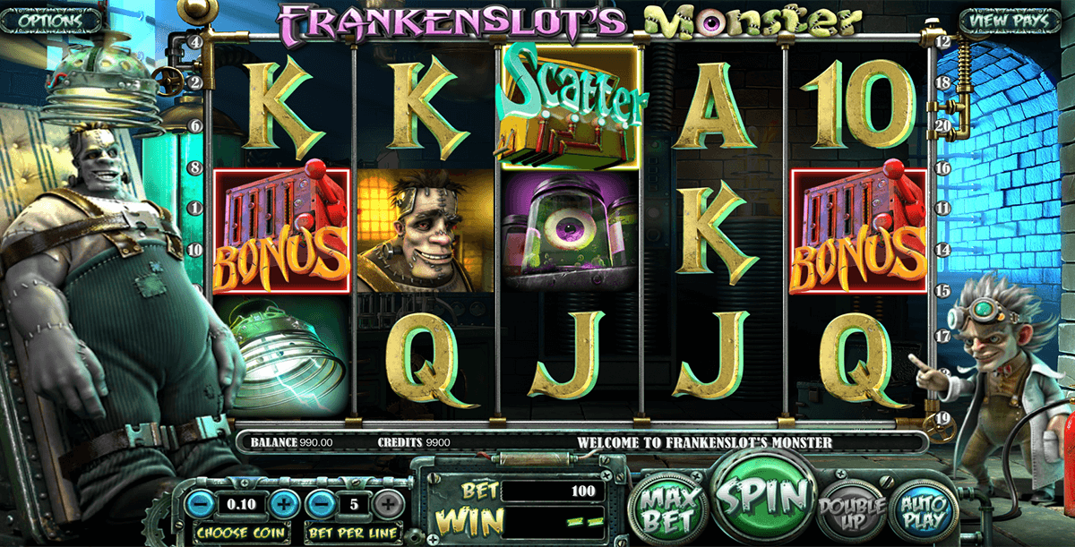 frankenslots monster betsoft casino