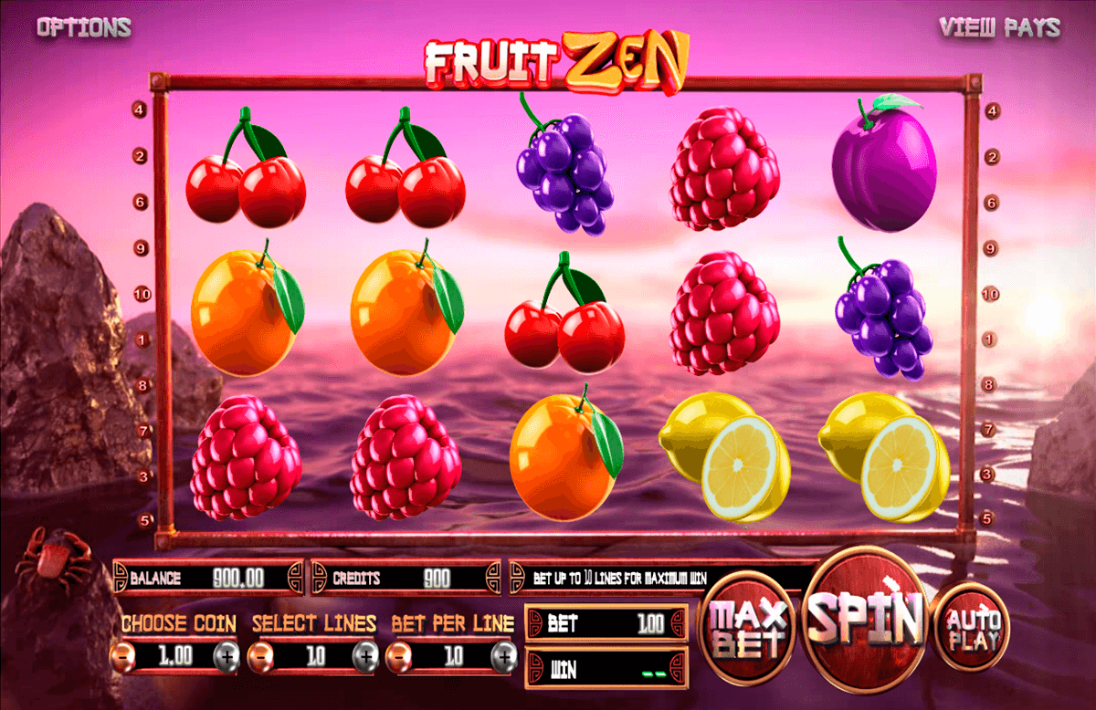 fruit zen betsoft casino