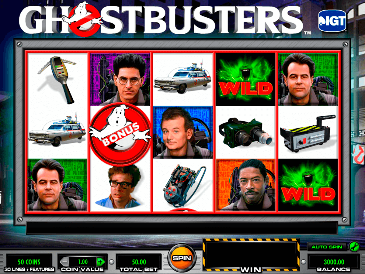 ghostbusters igt casino