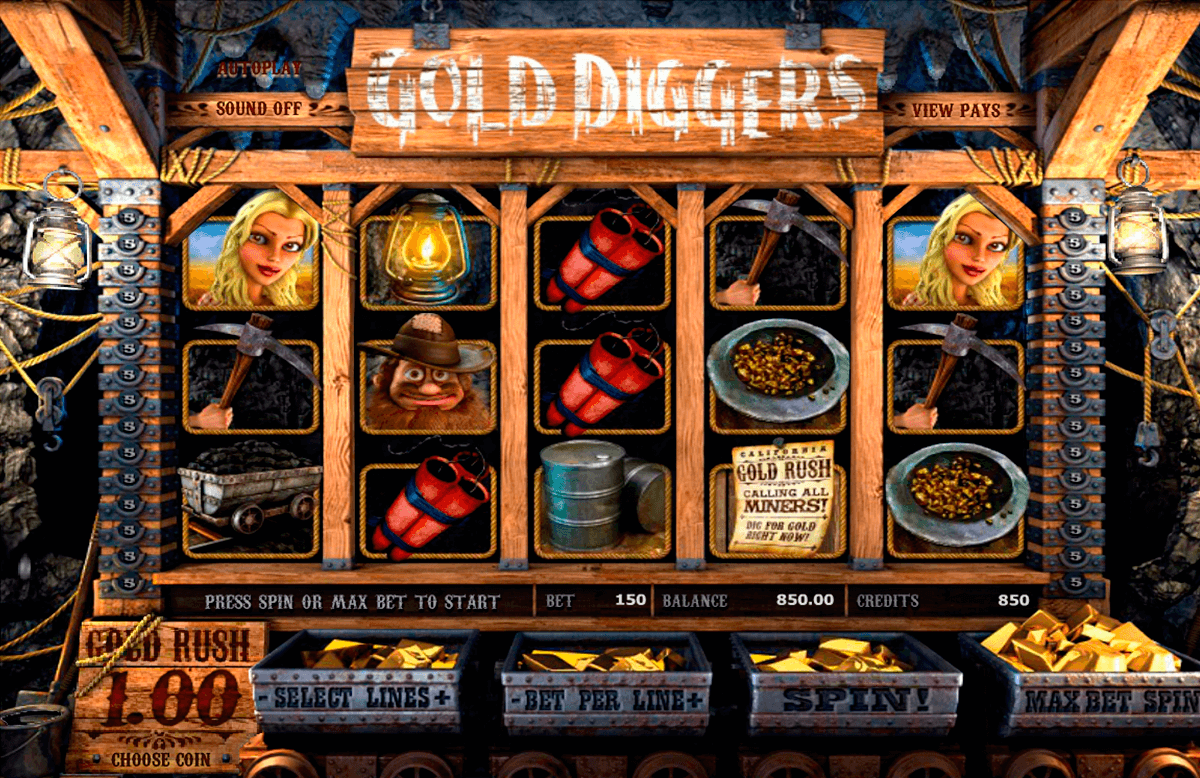 gold diggers betsoft casino