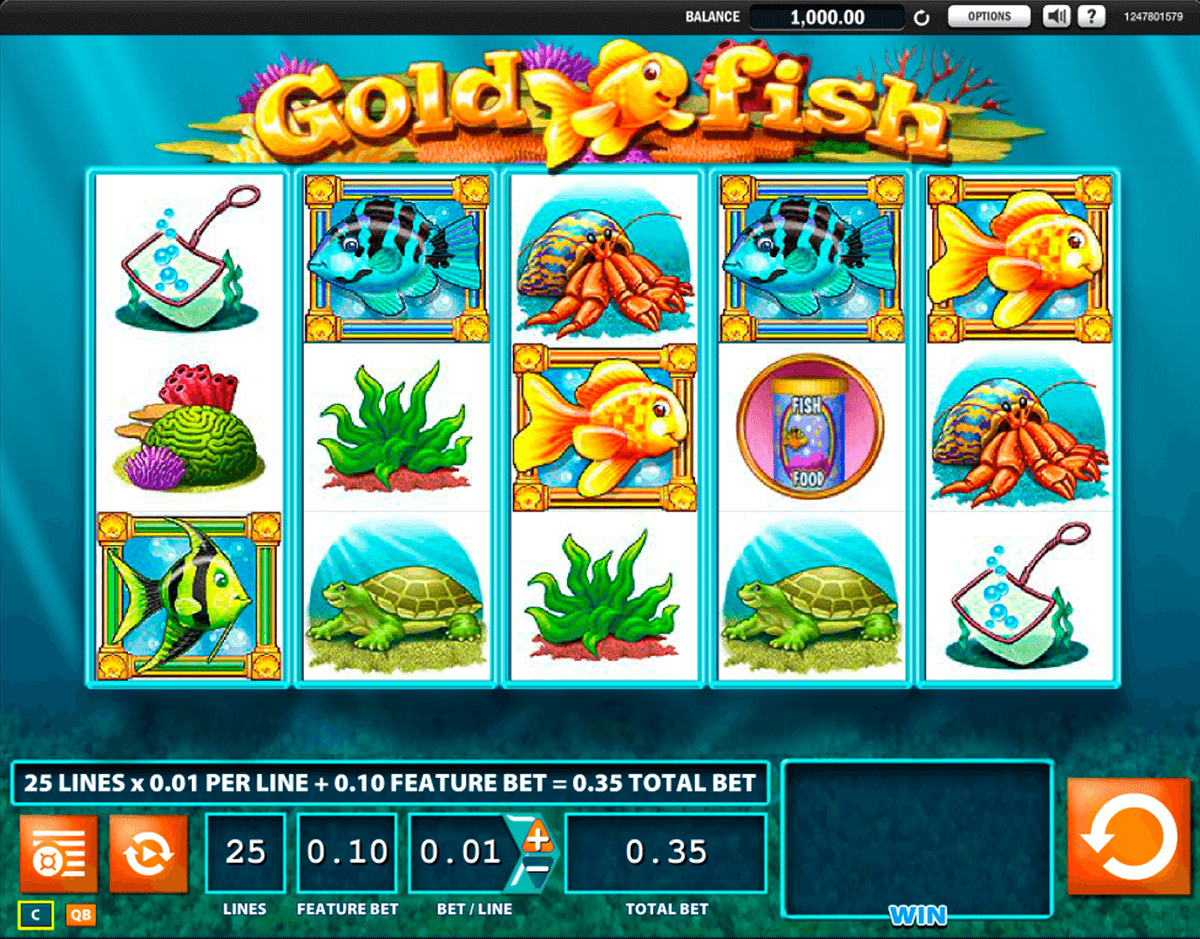 gold fish wms casino