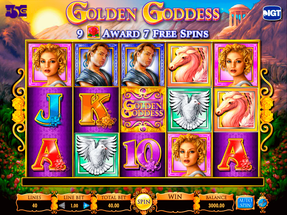 golden goddess igt casino