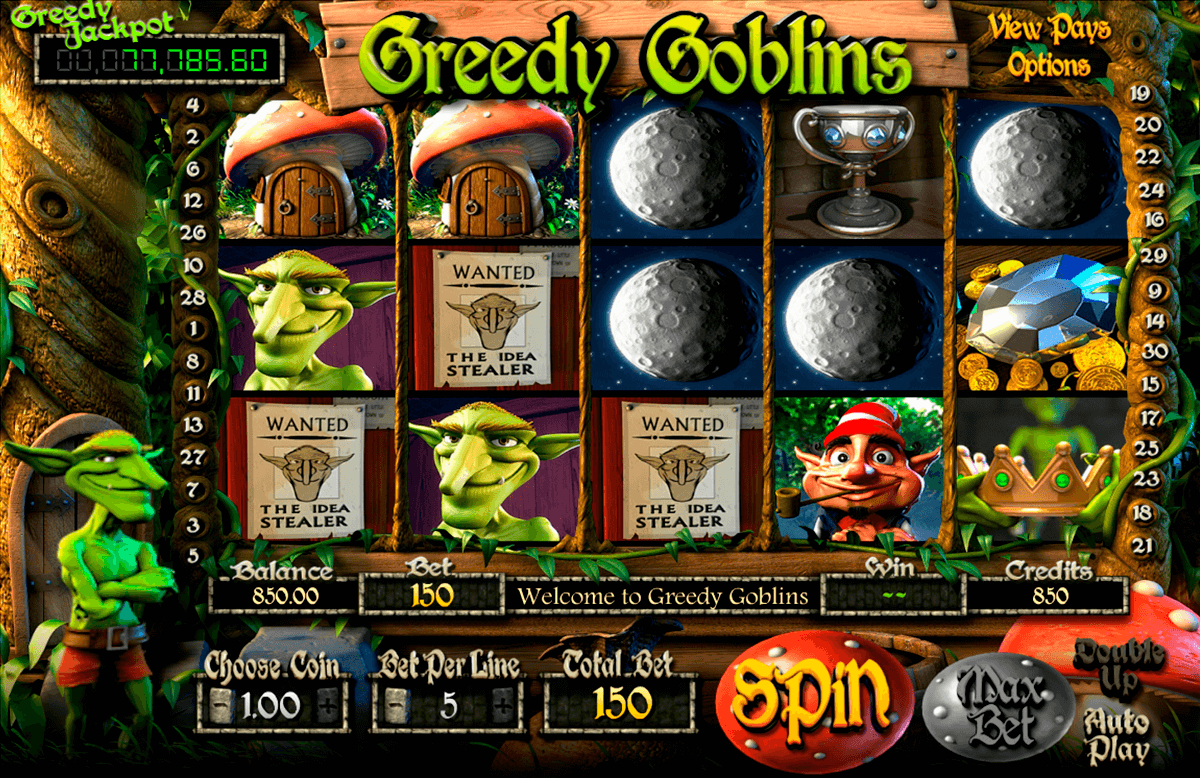 greedy goblins betsoft casino