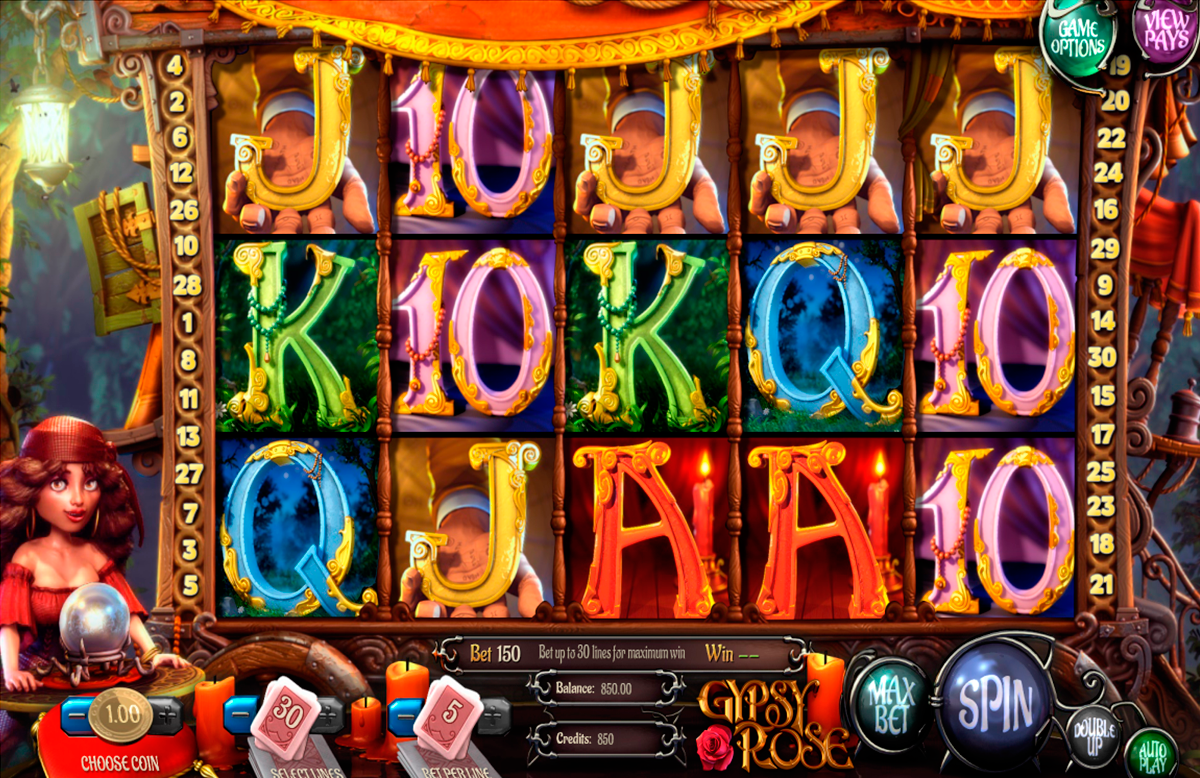 gypsy rose betsoft casino
