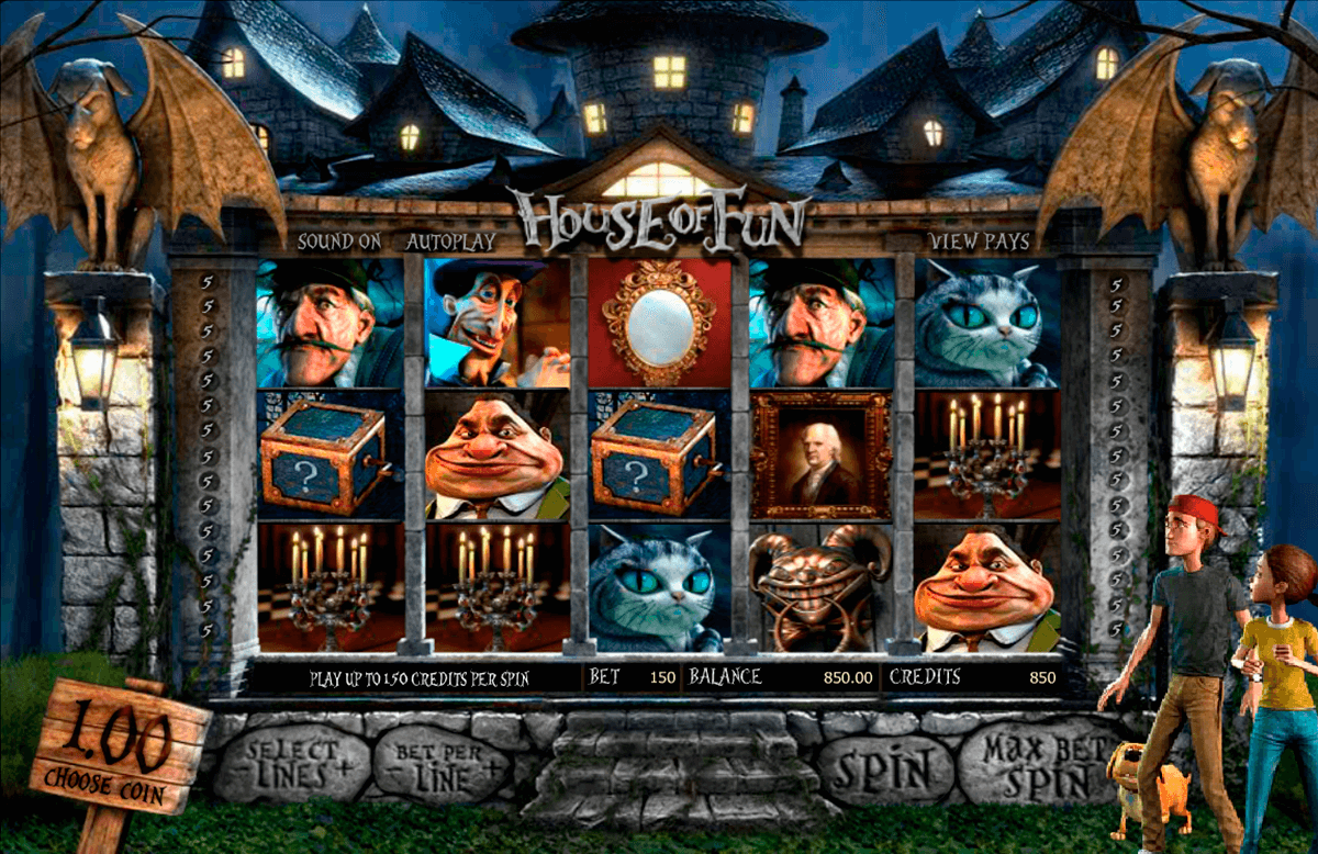 house of fun betsoft casino