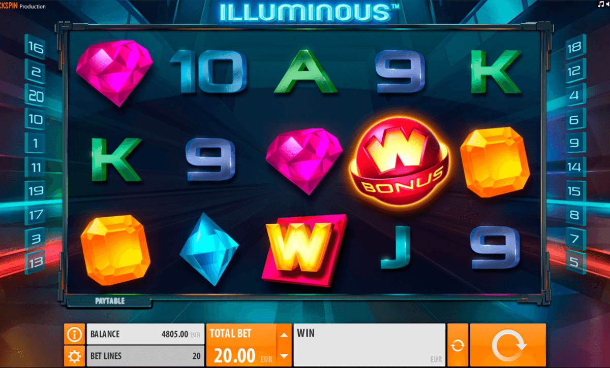 illuminous quickspin casino