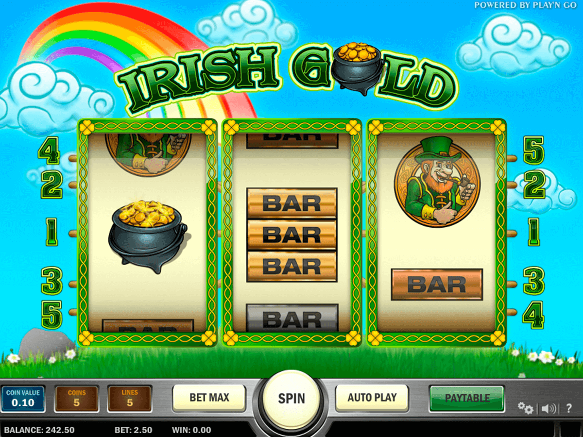 irish gold playn go casino
