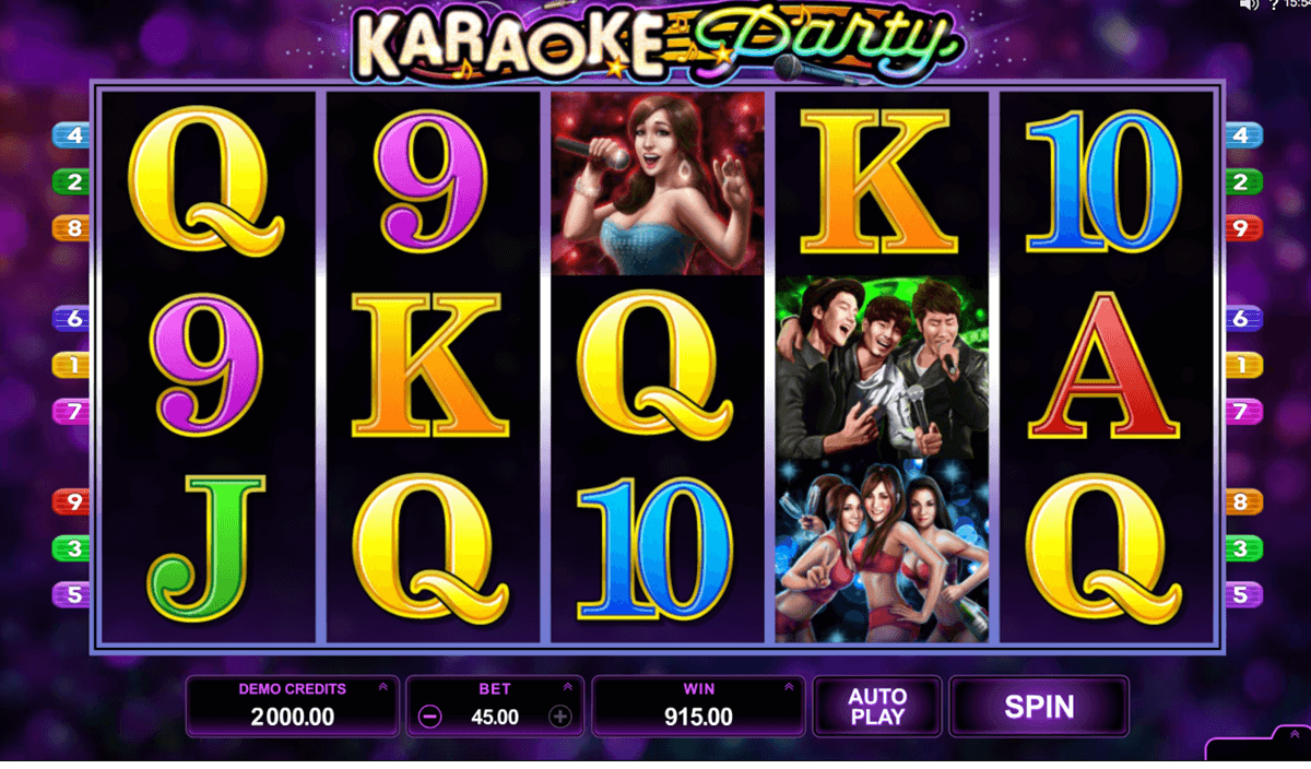 karaoke party microgaming casino