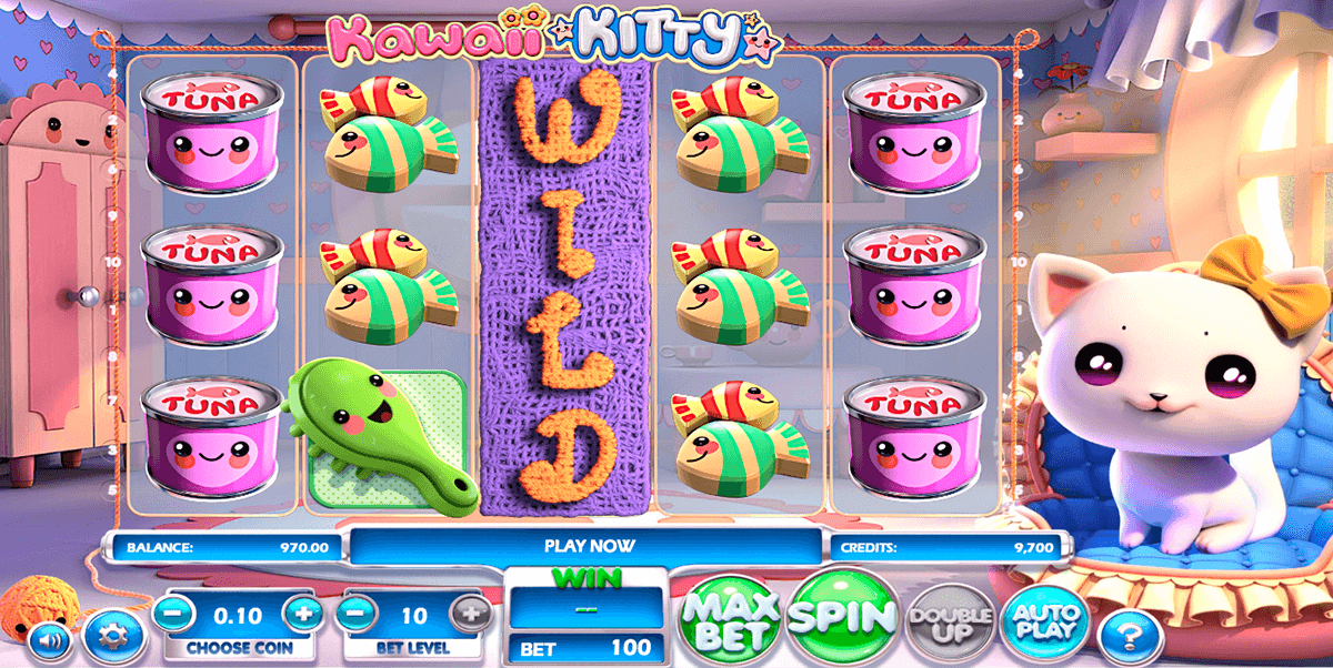 kawaii kitty betsoft casino