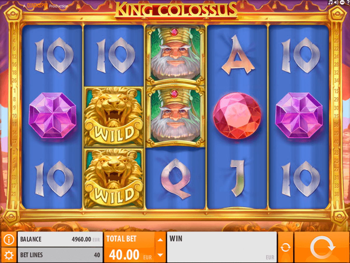 king colossus quickspin casino