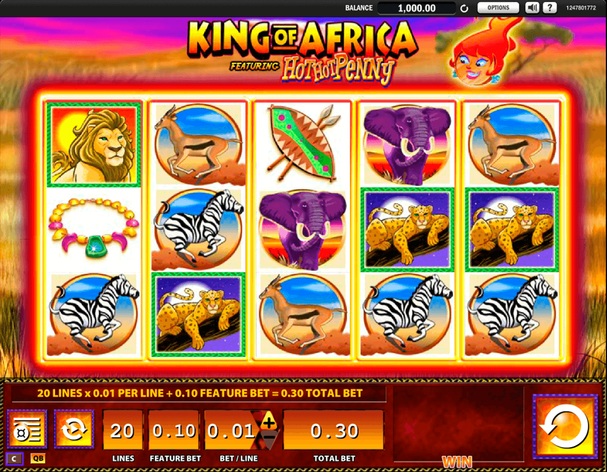 king of africa wms casino